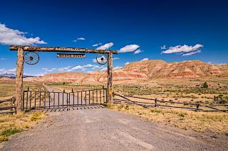 Turtle Ranch Wagon Gulch, Wyoming. Вайоминг. Одиночное путешествие на велосипеде по США