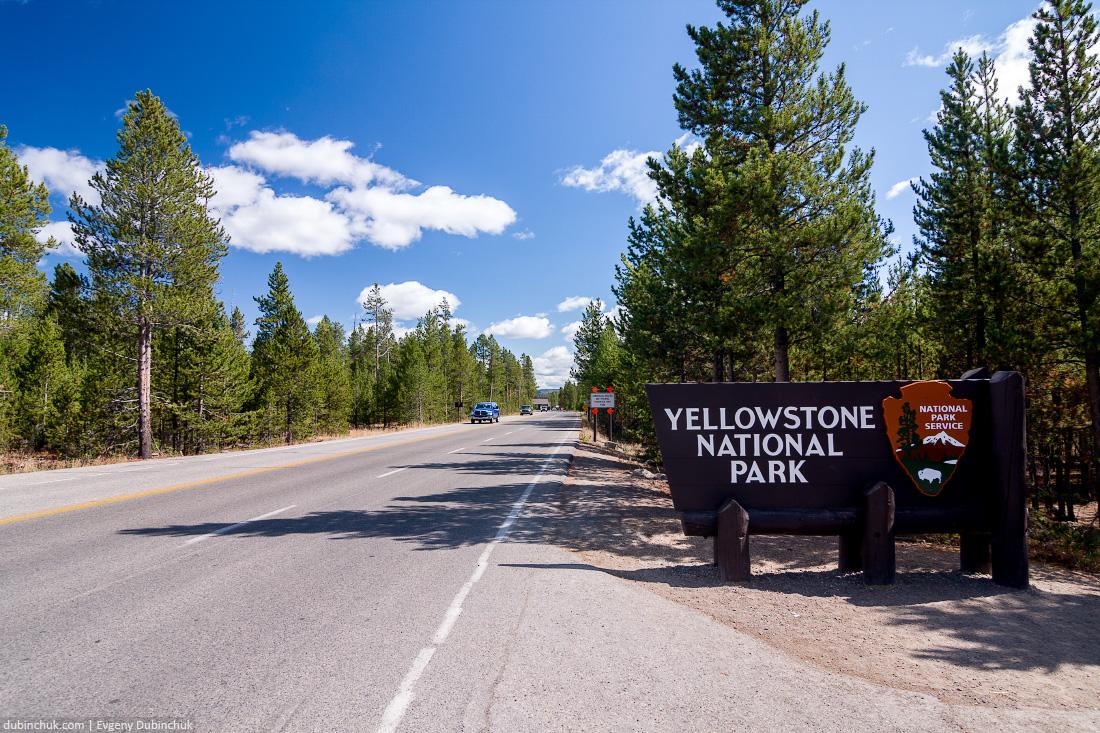Национальный парк Йеллоустоун, США. Одиночный поход на велосипеде по США. Yellowstone National Park