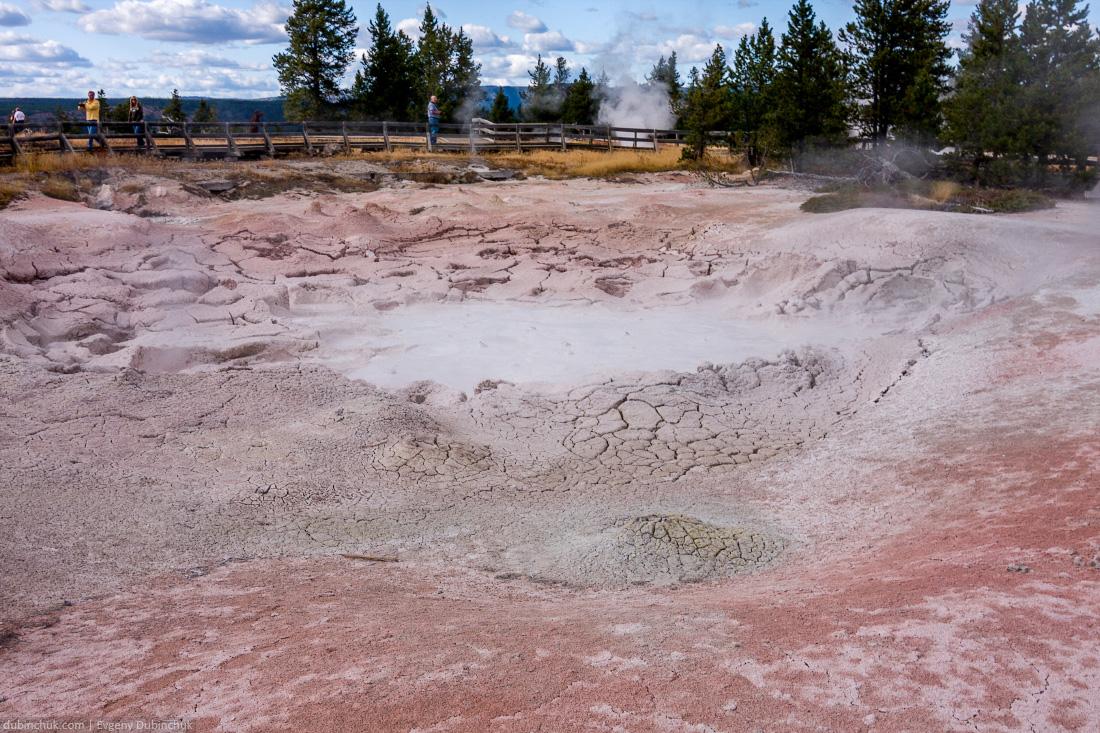 Национальный парк Йеллоустоун. Одиночное путешествие в Америку на велосипеде. Yellowstone National Park, Wyoming, USA