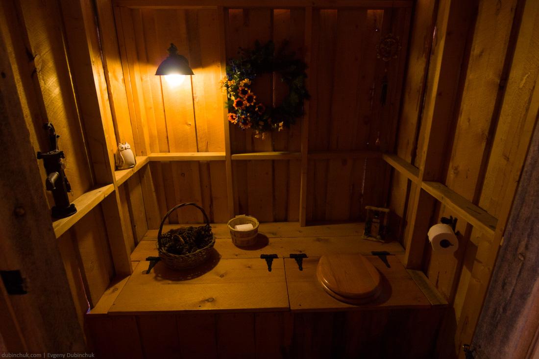 Необычный интерьер туалета. Путешествие по США на велосипеде. Unusual restroom