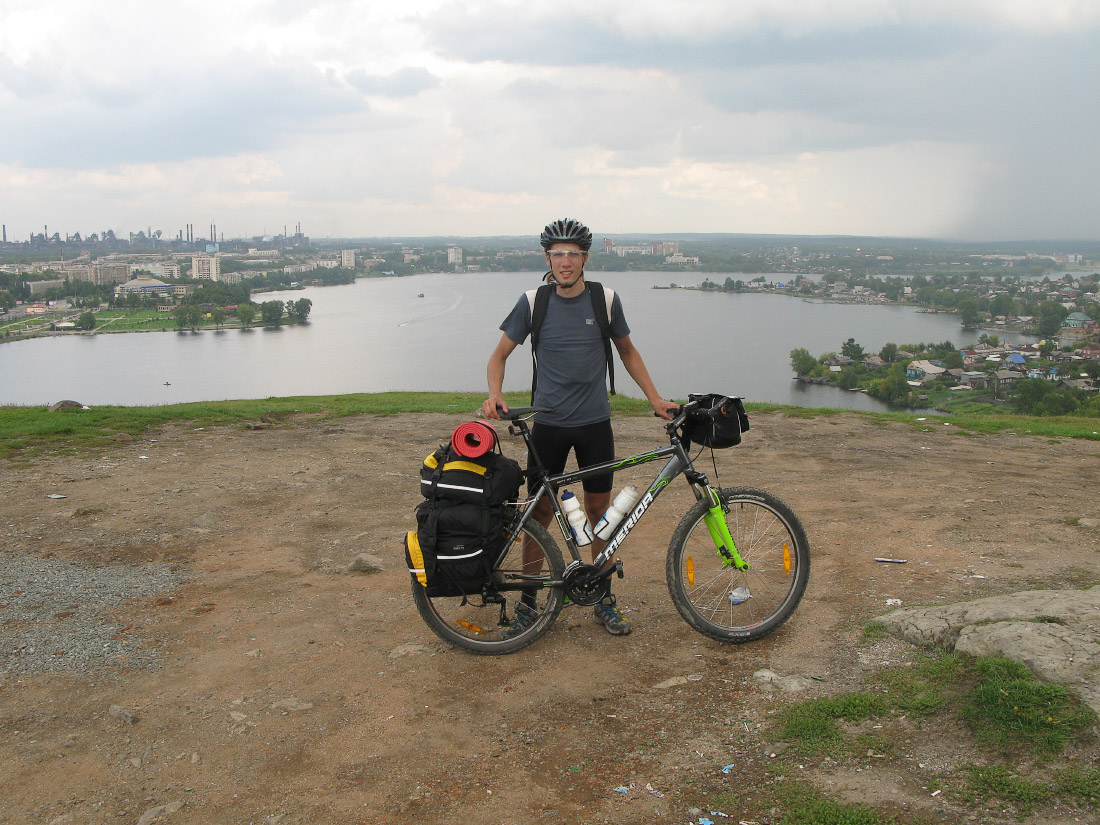 Путешествие в одиночку на велосипеде по Среднему и Южному Уралу. Лисья гора, Нижний Тагил