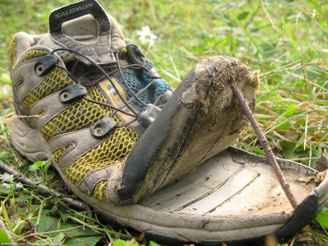 Кроссовки просят каши.  Отчет о путешествии на велосипеде в одиночку по Уралу.