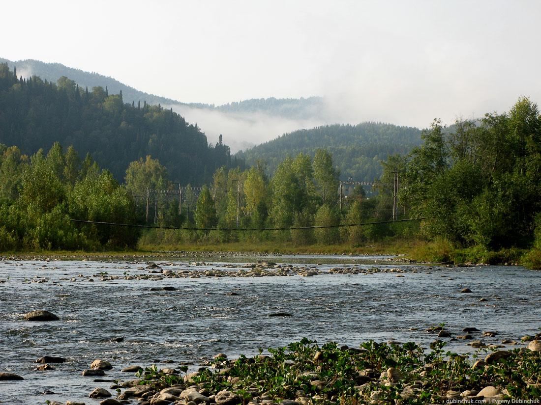 Река Инзер. Уральские пейзажи. Отчет о путешествии на велосипеде в одиночку по Уралу. Mountain river