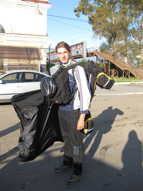 К отъезду в одиночный велопоход по Уралу готов!