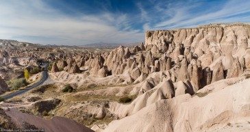 Rock formation - Fairy Chimneys in Cappadocia, Turkey