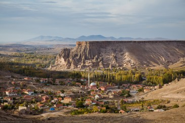 Yaprakhisar village in Cappadocia, Turkey