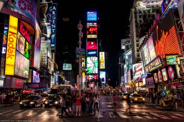 Times Square. Manhattan, New York City