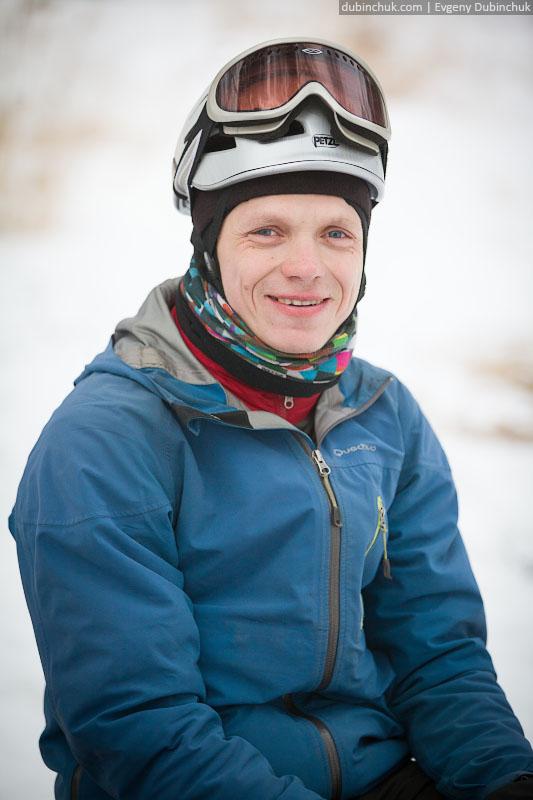 Вася. Поход по Байкалу на коньках