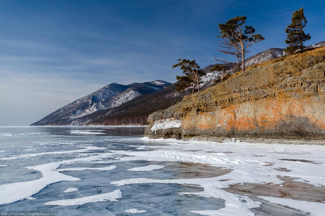 Байкал зимой. Поход по Байкалу на коньках. Lake Baikal in winter