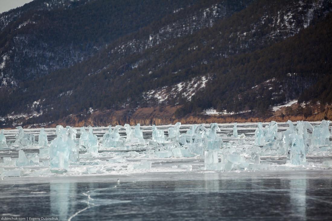 Табун ледяных лошадей, Бугульдейка, Байкал. Путешествие на Байкал на коньках. Ice horses on Baikal lake