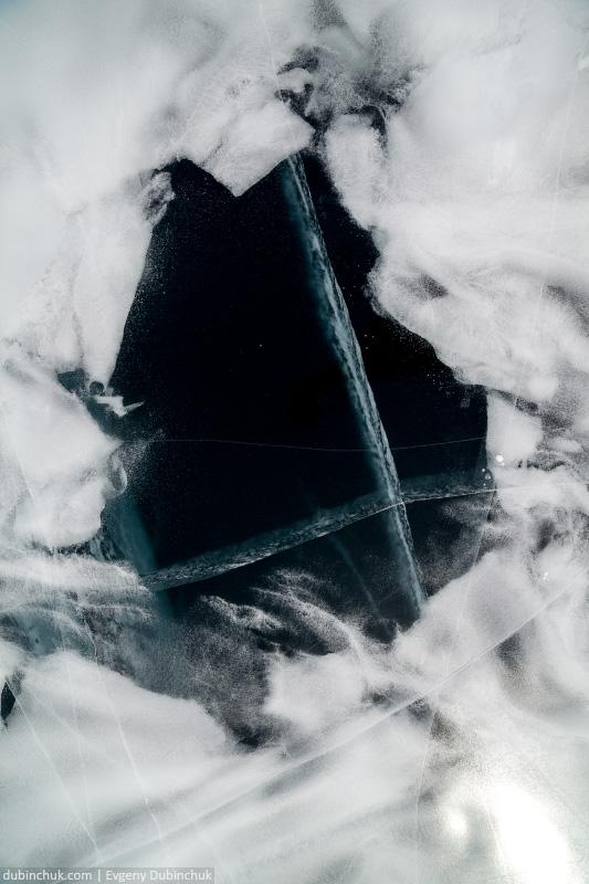 Причудливые формы льда на Байкале. Путешествие по Байкалу на коньках. Amazing ice on Baikal lake