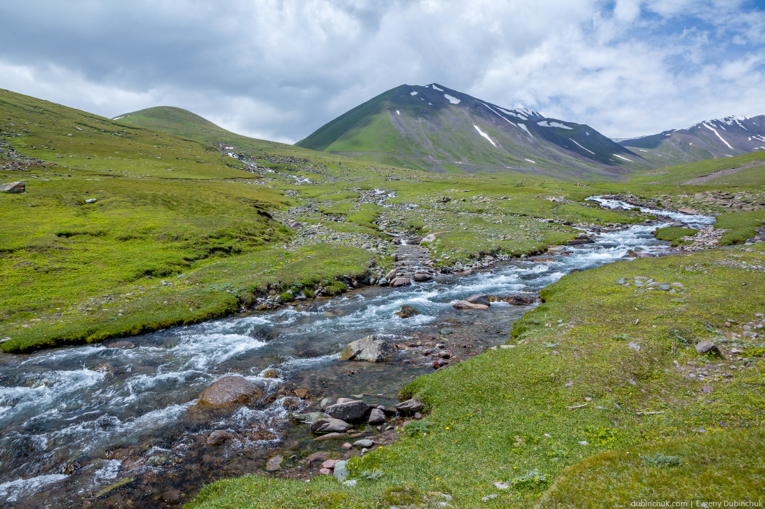 East Karakol river in Tien Shan mountains