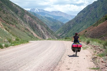 Cycling in Tien Shan