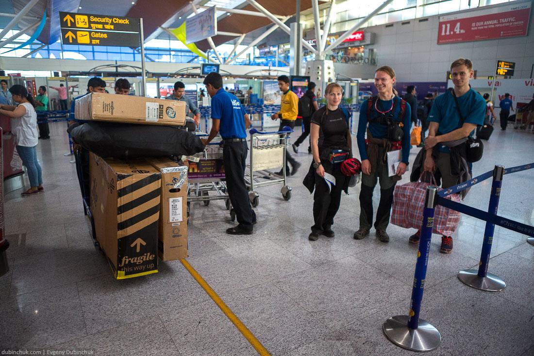 Аэропорт Индиры Ганди в Дели