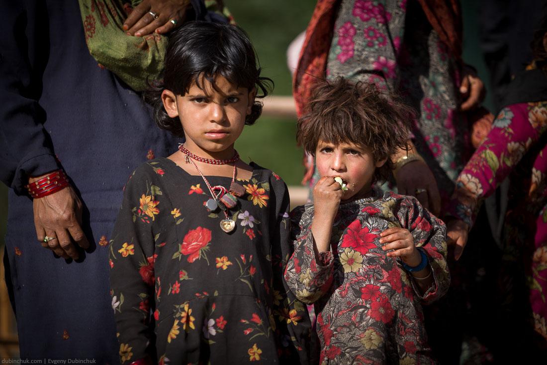 Дети в Кашмире - мусульманском регионе Индии
