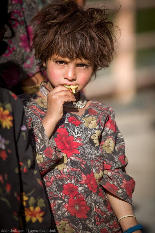 Девочка из Кашмира. Индия