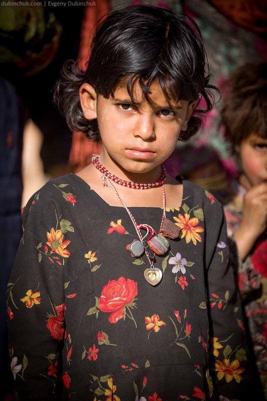 Кашмирская девочка