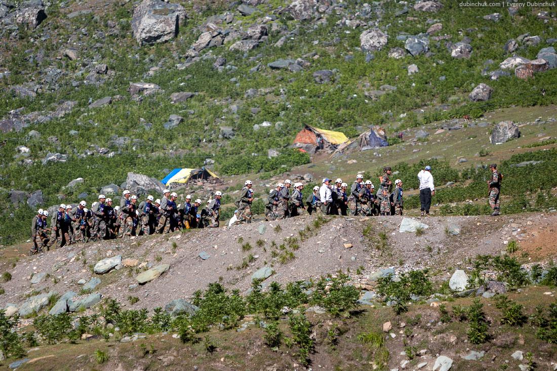 Индийские военные. Штат Джамму и Кашмир
