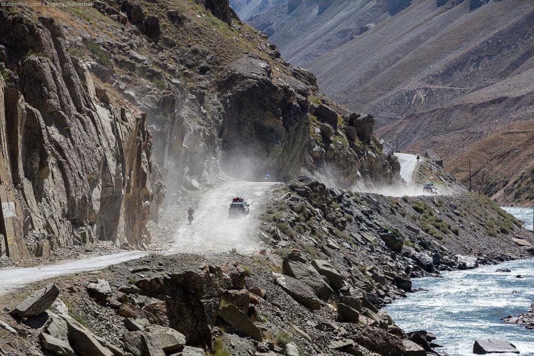 Ущелье в Кашмире. Велопоход
