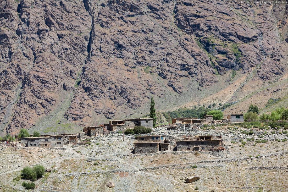 Типичная деревня в Кашмире
