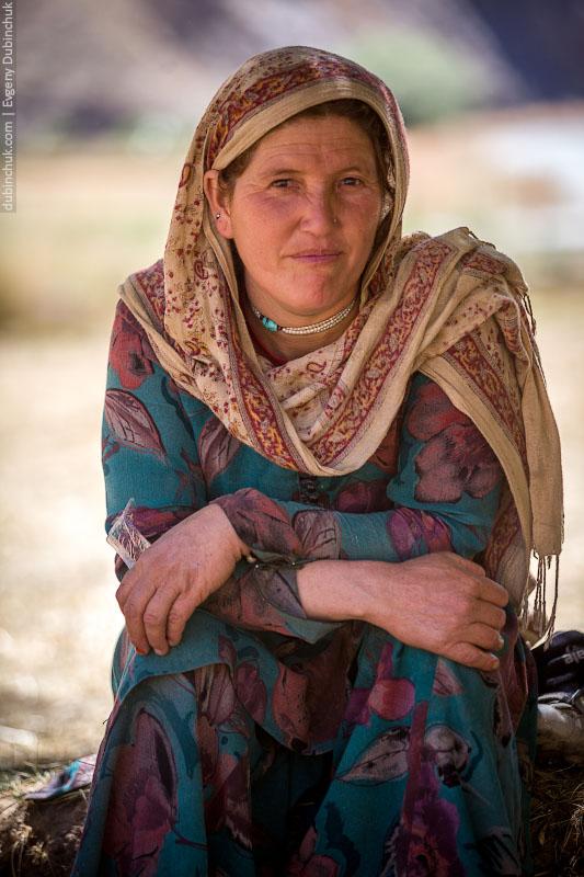 Учительница в Кашмире.
