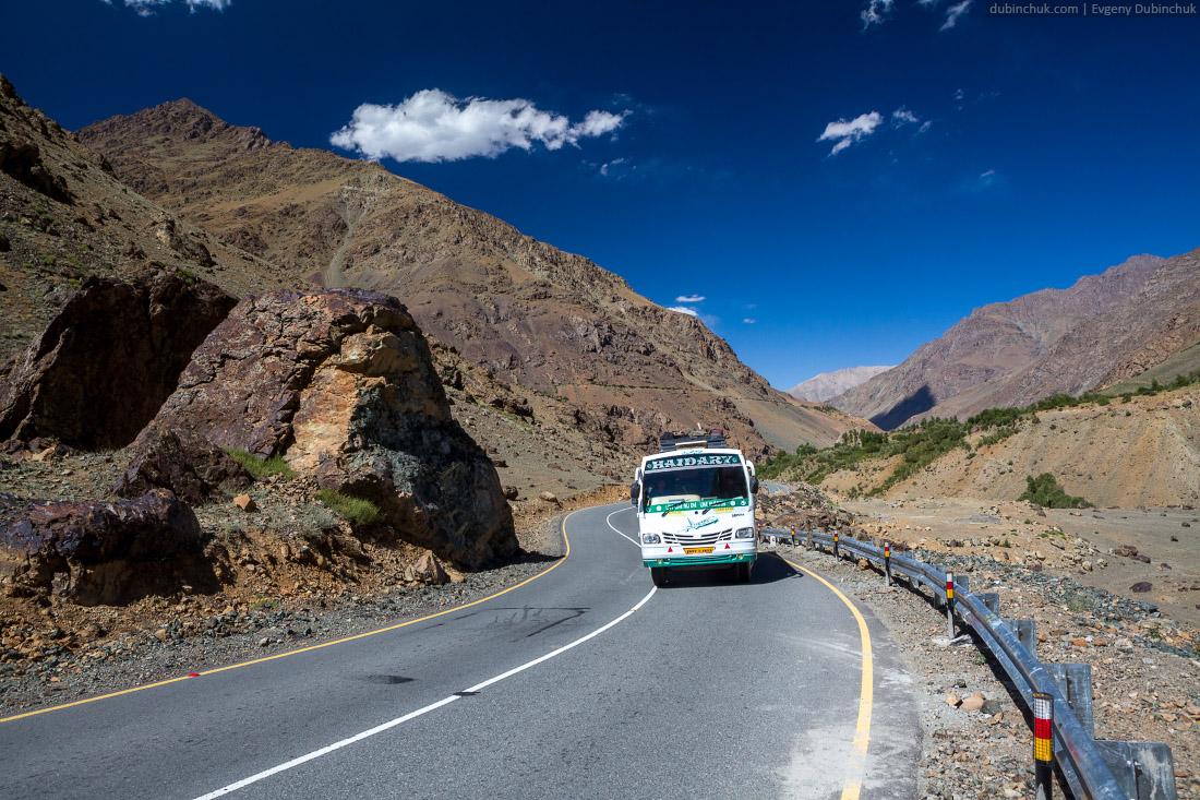 Индийские дороги. Кашмир