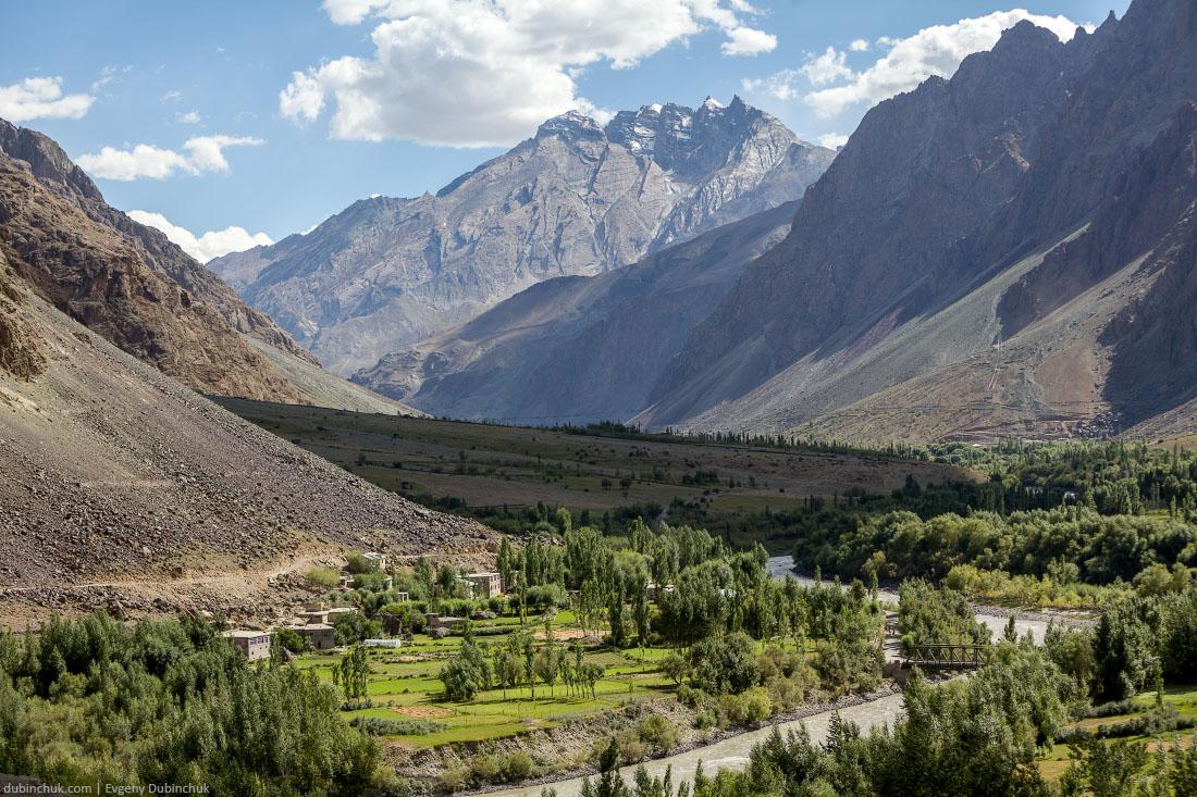 Гималайская деревня. Кашмир