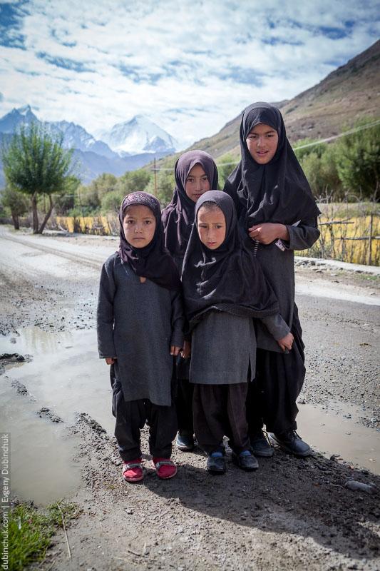 Девочки мусульманки в Индии