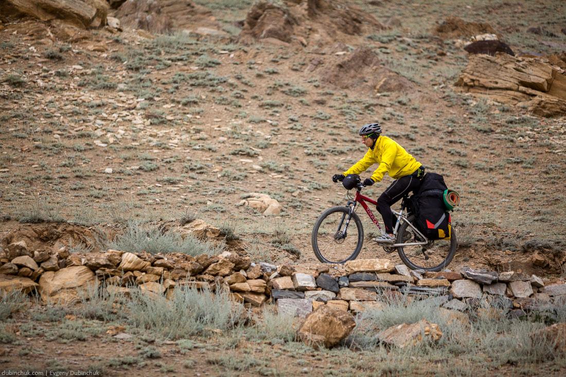 Поход на велосипедах по Гималаям