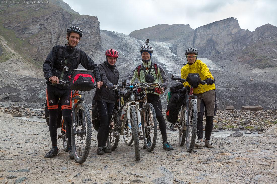 На фоне ледника. Индийские Гималаи на велосипеде