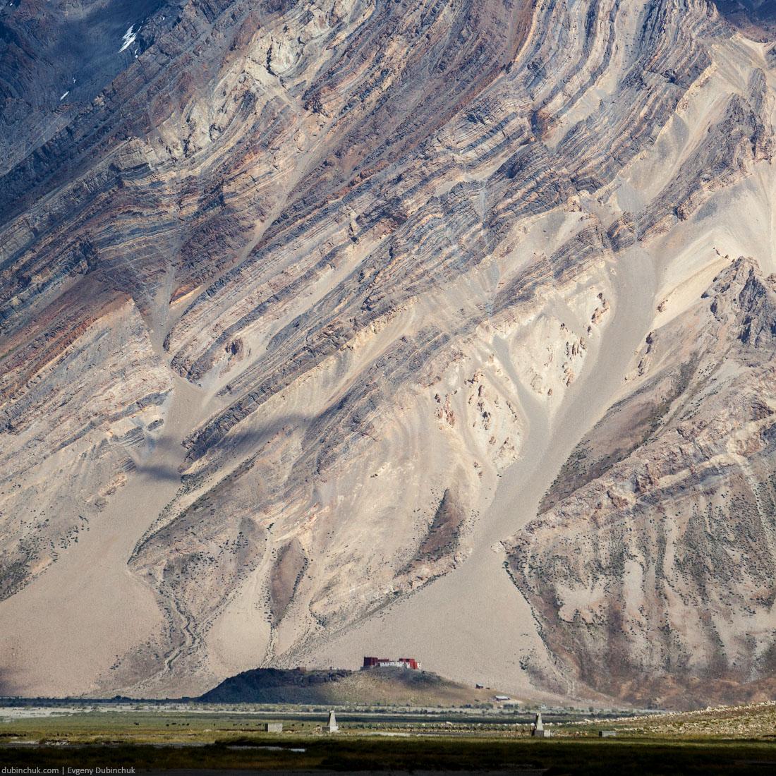Монастырь Рангдум Гомпа (Rangdum Gompa) в Индийских Гималаях