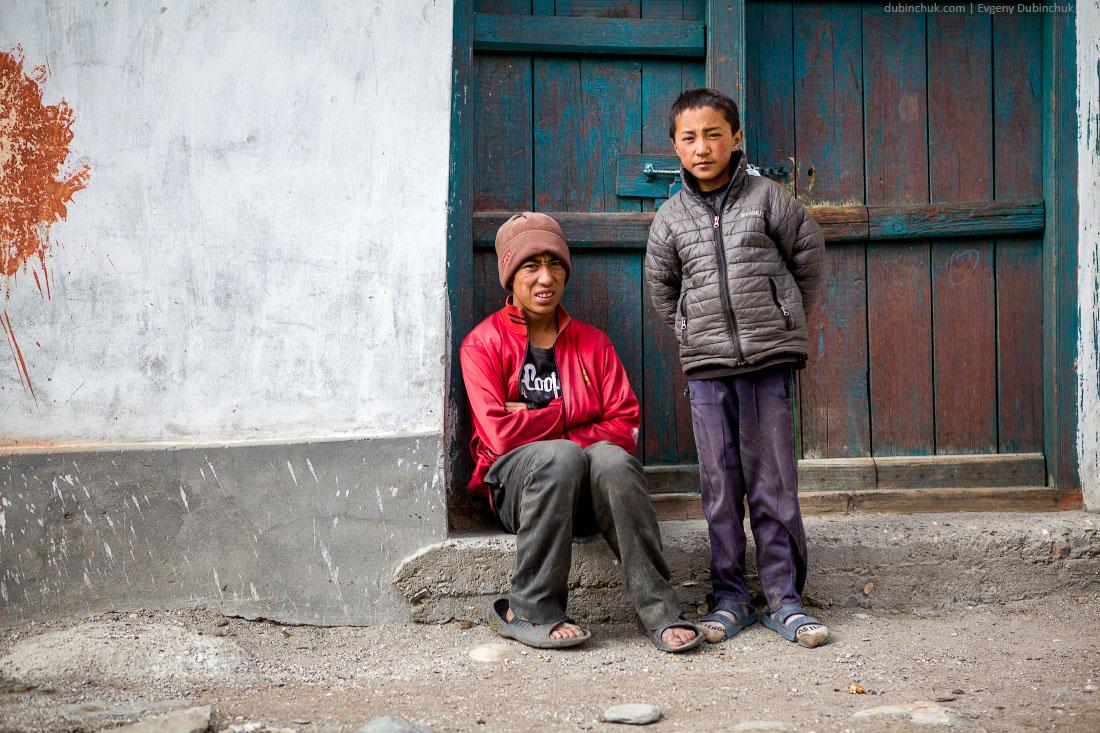 Жители Рангдума