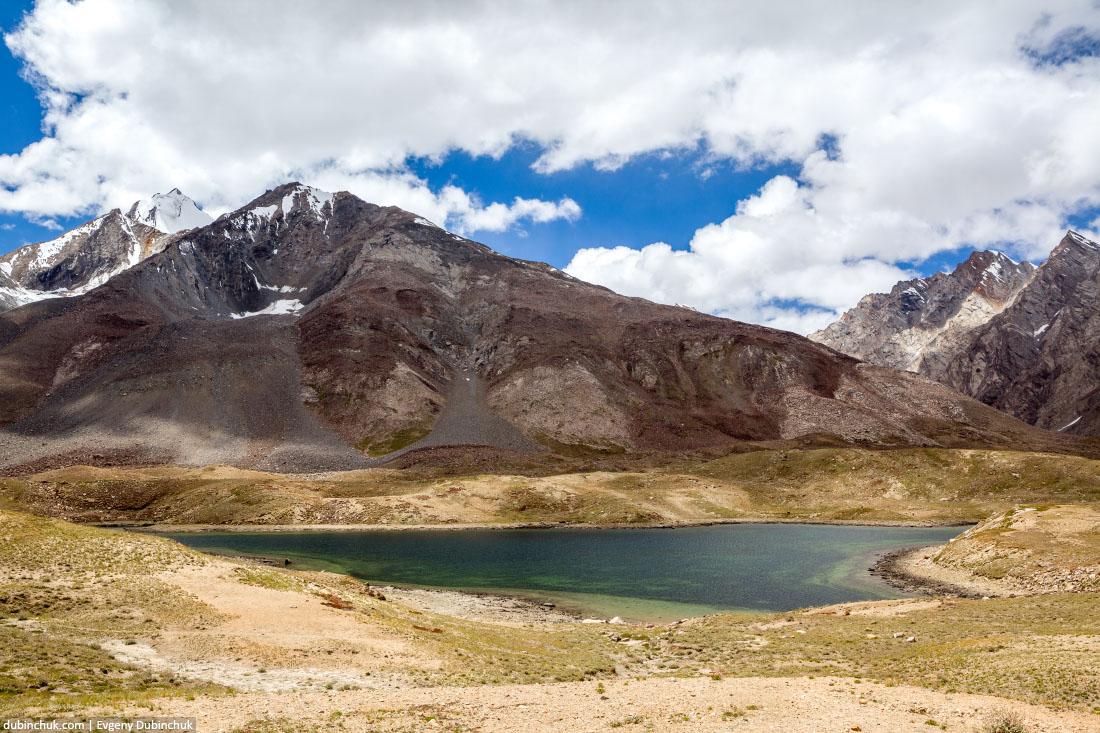 Озеро на перевале Пенси Ла (Pensi La)
