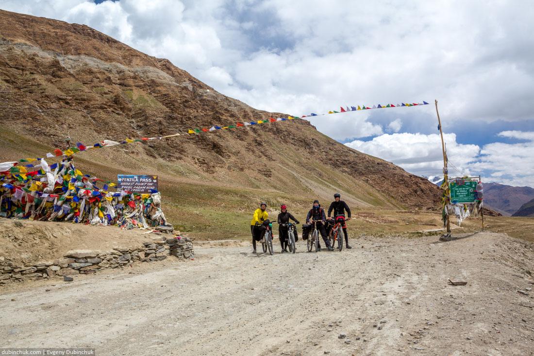 Перевал Пенси Ла (Penzi La) - ворота в Занскар. Велопоход по Северной Индии
