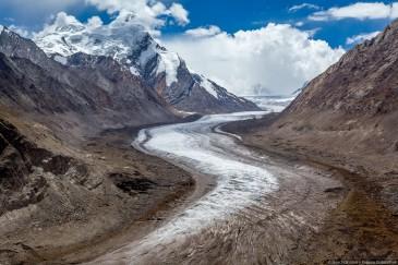 Ледник Дранг Друнг (Drang Drung glacier). Занскар, Гималаи, Индия.