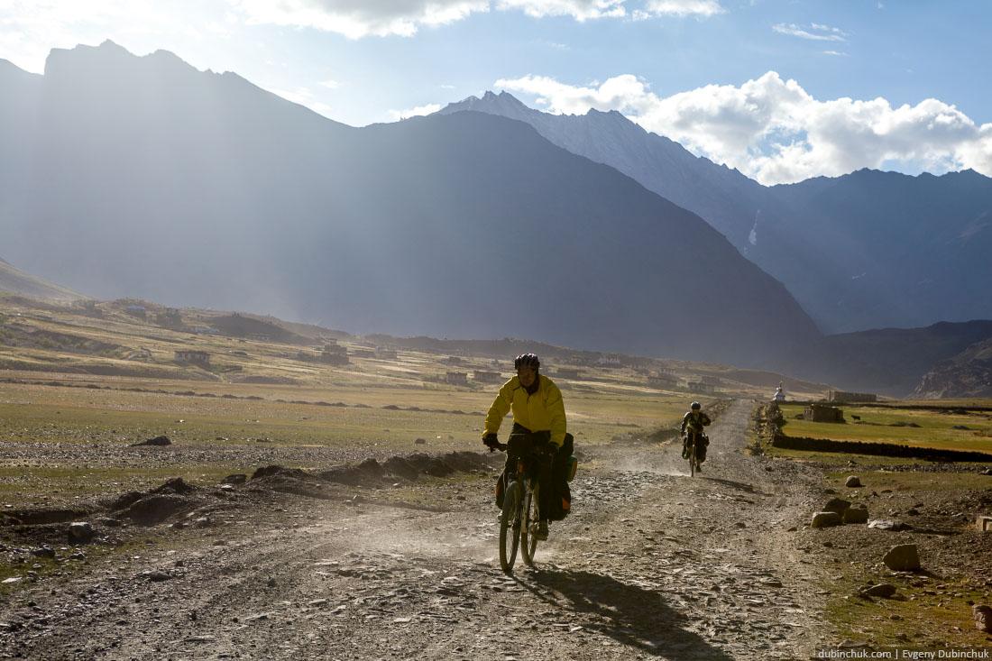 По Занскару на велосипедах. Велопоход по Индии