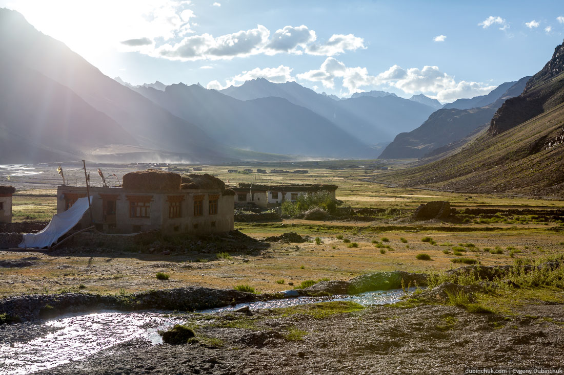 Деревня в Занскаре