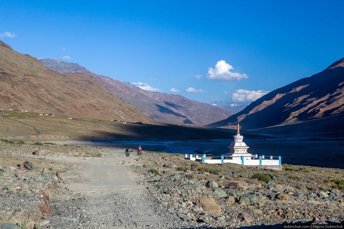 Буддийская ступа в Занскаре