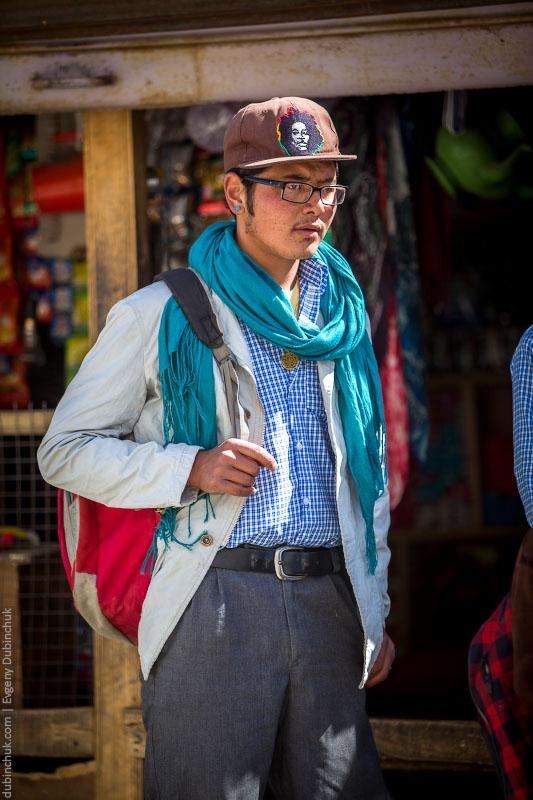 Хипстер в Занскаре, Индия
