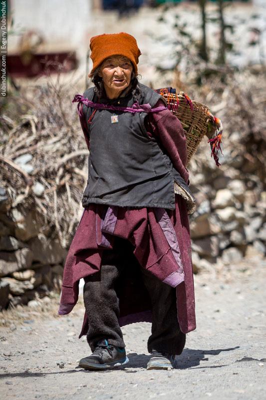 Женщина Занскара. Северная Индия
