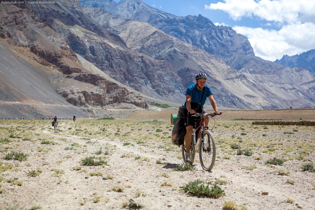 Велопоход по Гималаям. Пески Занскара