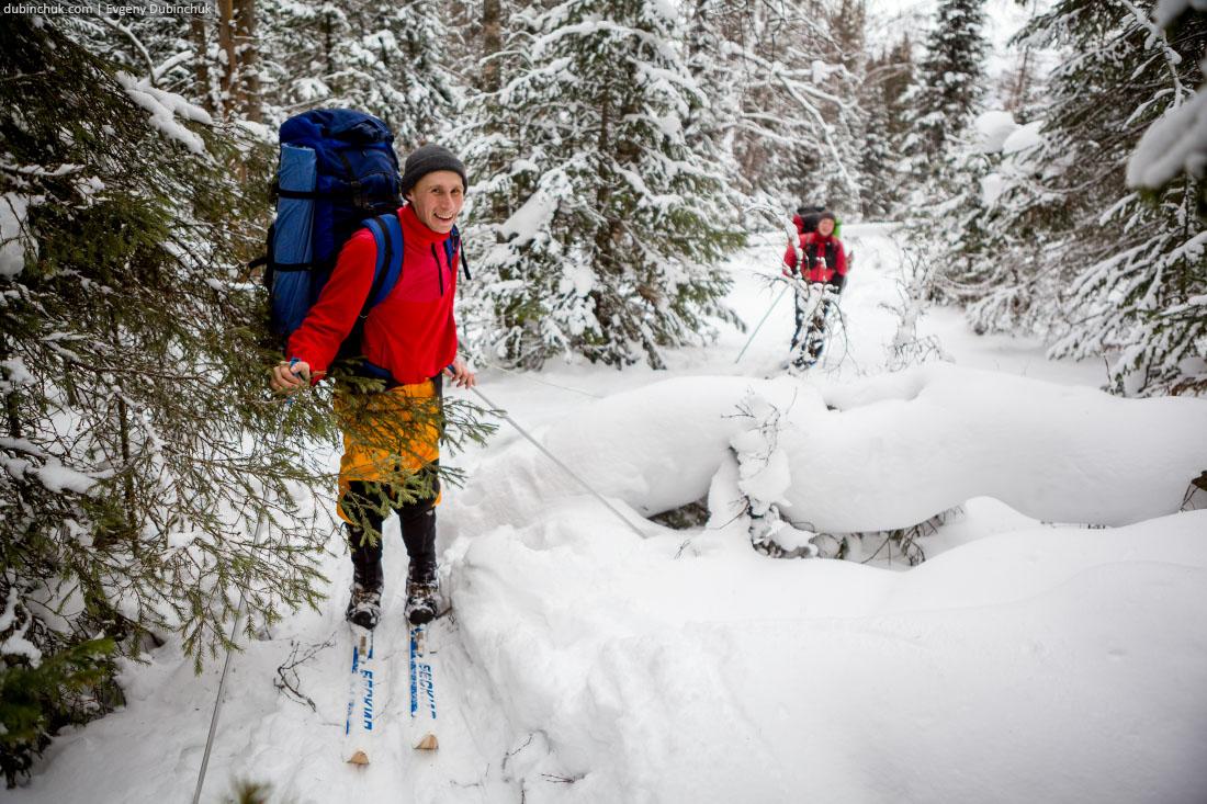 На лыжах по Южному Уралу
