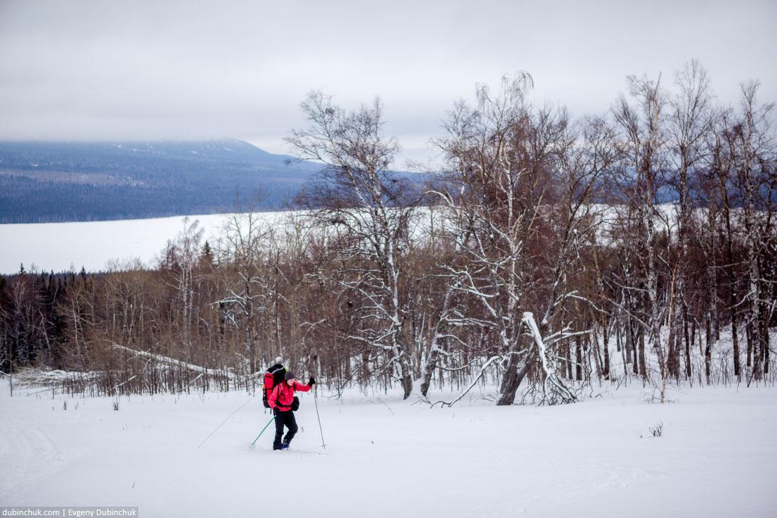 Зимний поход на лыжах. Южный Урал