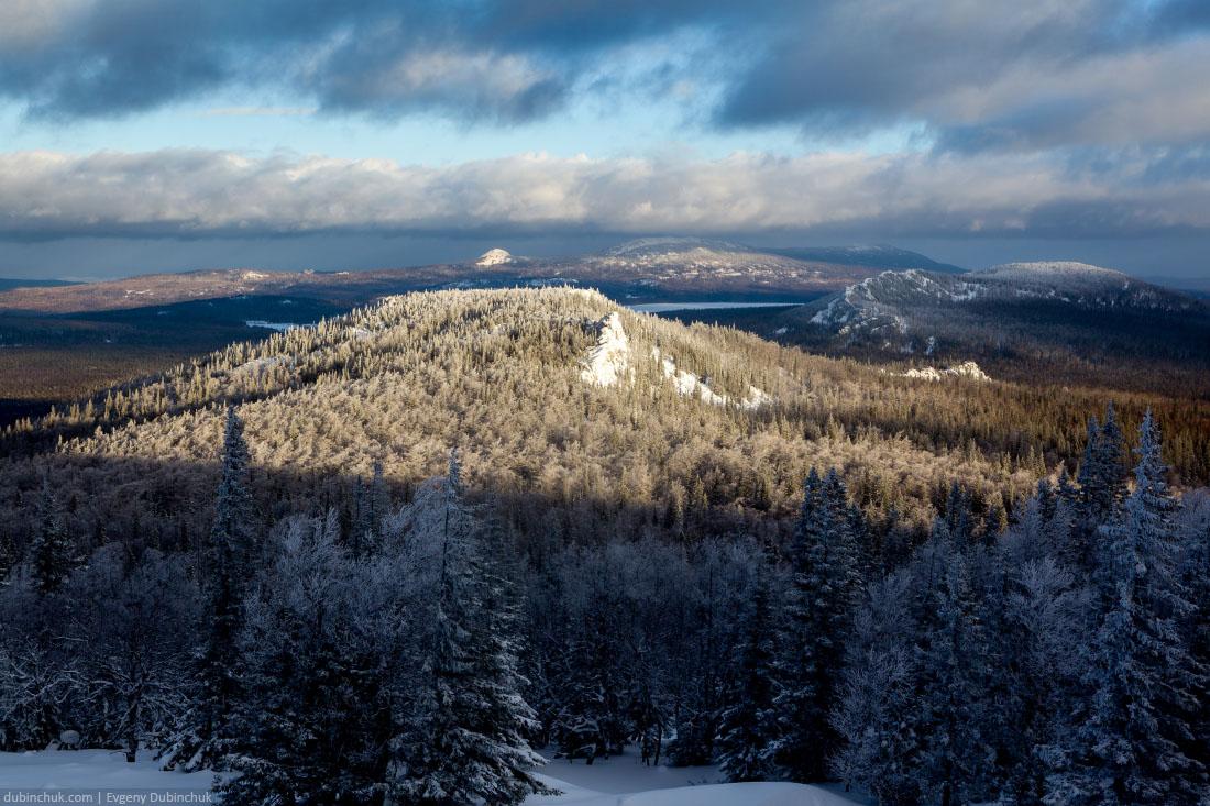 Южный Урал зимой