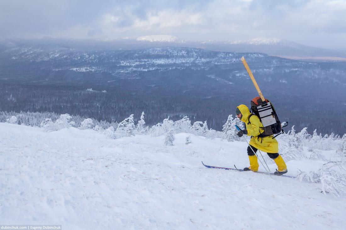 Лыжный поход в январе по Уралу