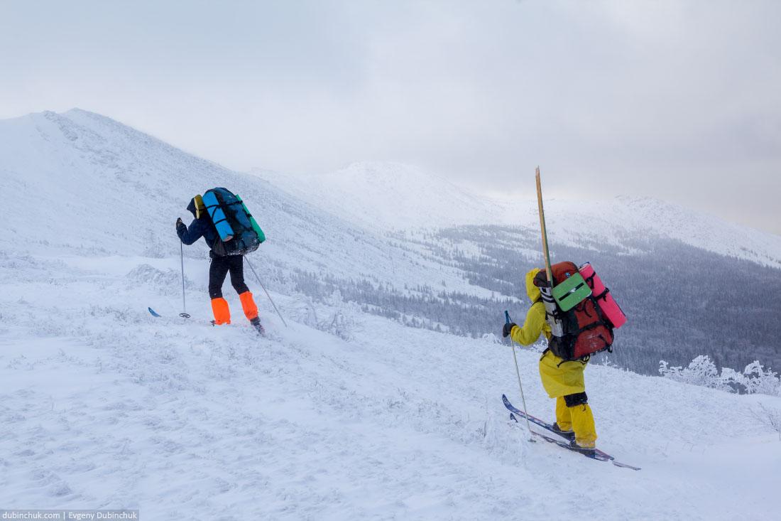 Хребет Нургуш зимой. Лыжный поход, Зюраткуль