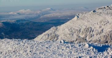 Зимние красоты Южного Урала. Вид с Большого Иремеля
