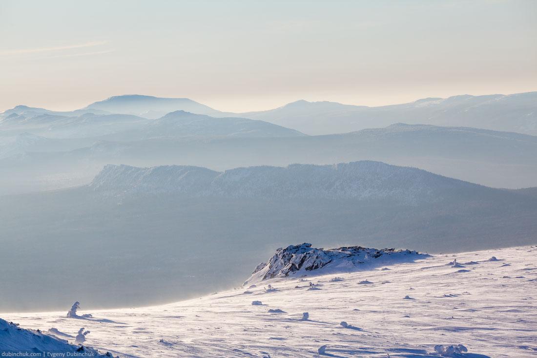 Зимний пейзаж. Южный Урал