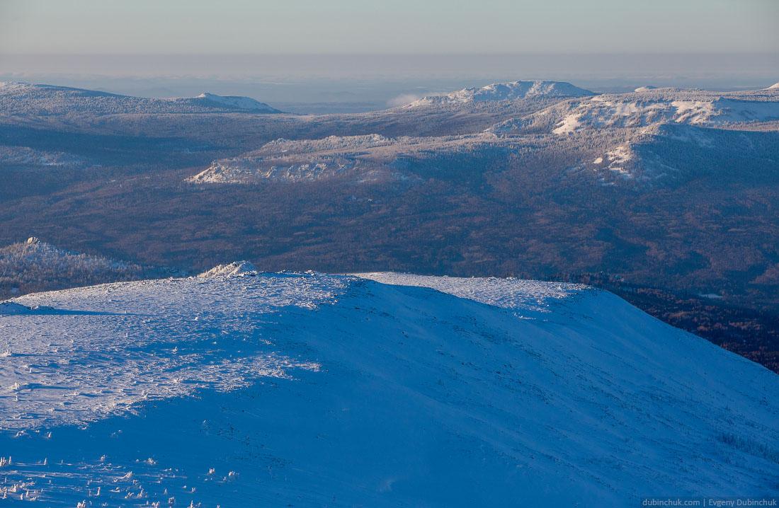 Южный Урал зимой в январе. Окрестности Иремеля