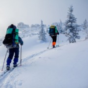 Лыжный поход по Южному Уралу. Зюраткуль. Январь 2015. Часть 1